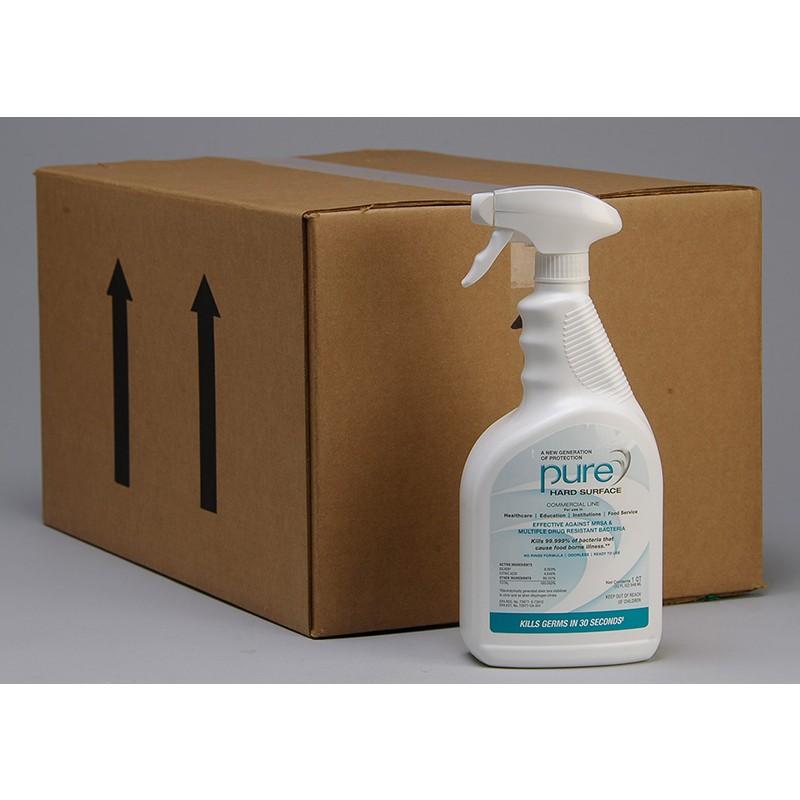 Pure disinfectant 32oz. bottles (12)